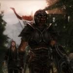 Rak'sada and his squire Hjoromir
