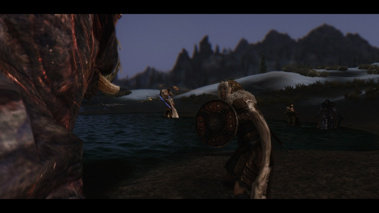 Callen and the Horker